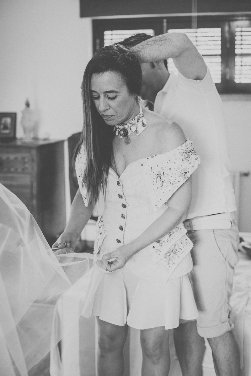 Reportagem Fotográfica de Casamento - Preparativos Noiva