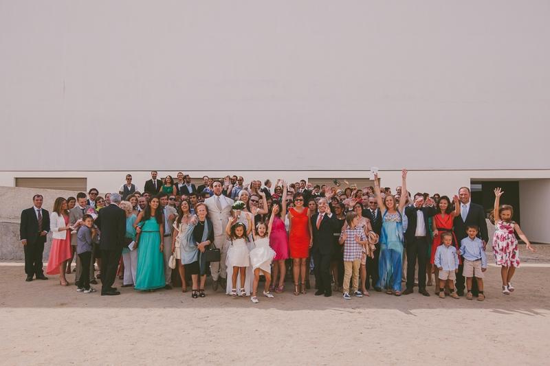 Reportagem Fotográfica de Casamento - Fotografia de Grupo Casamento