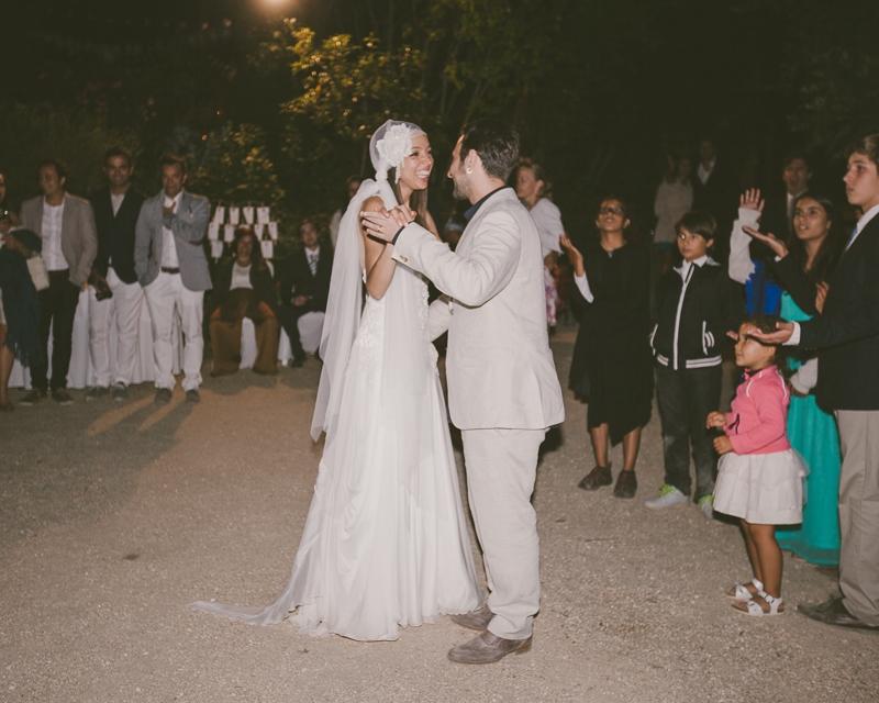 Reportagem Fotográfica de Casamento - Primeira Dança Noivos