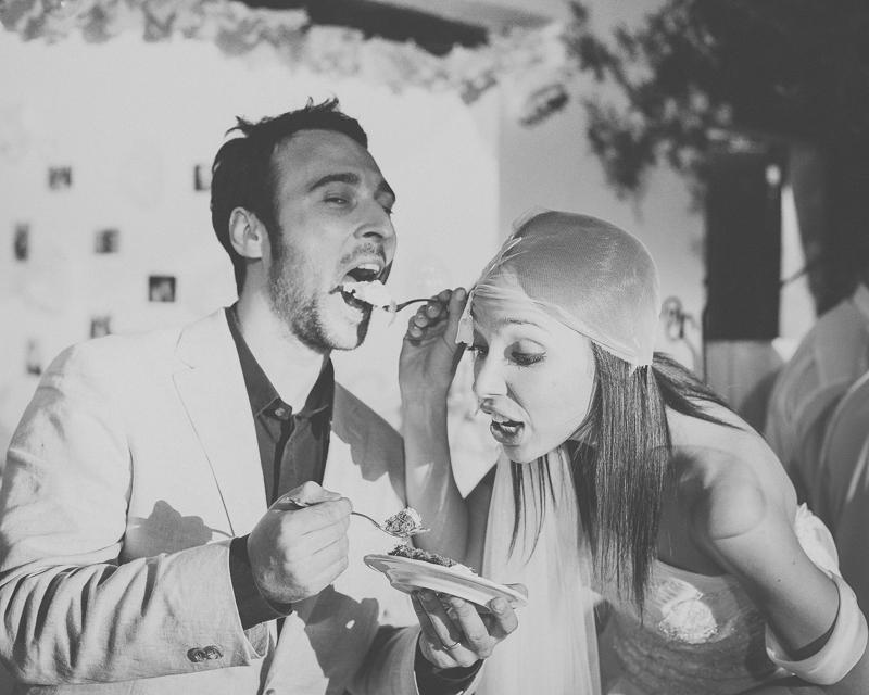 Reportagem Fotográfica de Casamento - Bolo