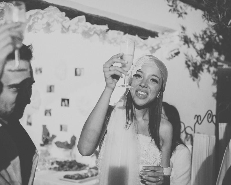 Reportagem Fotográfica de Casamento - Brinde