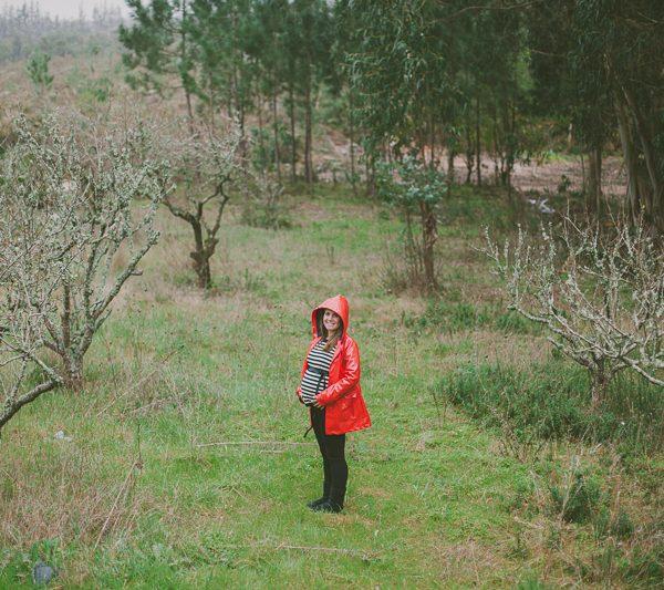Sessão de Maternidade :: Mafalda e a chuva