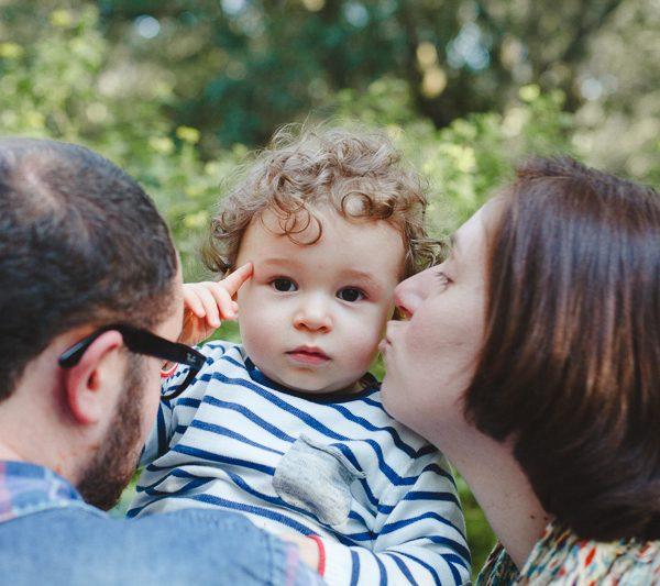 família em ponto pequeno :: joana + miguel + dinis