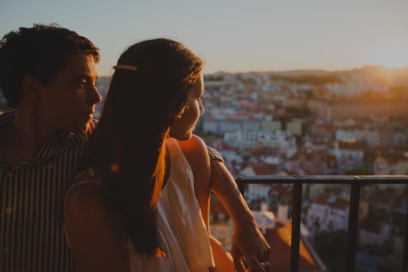 Sessão de Namoro em Lisboa * Inês + Gonçalo