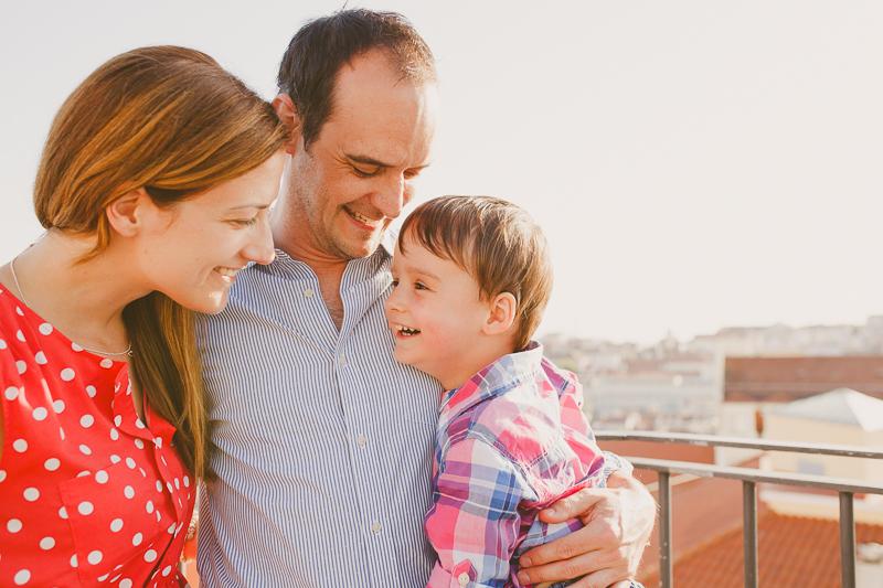 sessão de família em lisboa :: valérie + guillaume + raphael