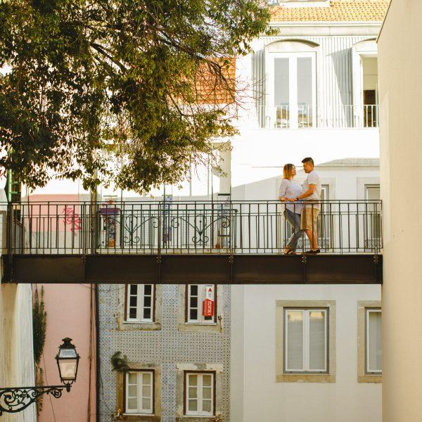 Sessão de Gravidez em Lisboa :: Ellen + Armand