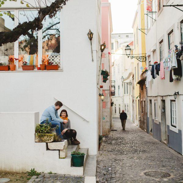 Sessão de Namoro em Lisboa * Adrienne + Pauric
